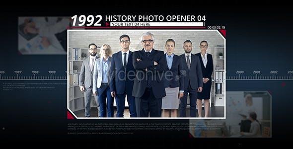 Videohive History Photo Opener 11819522