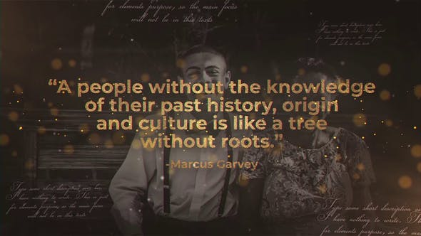 Videohive History Quotes 23445138