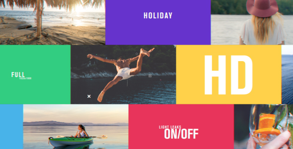 Videohive Holiday 20476162