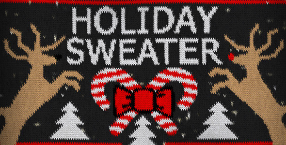 Videohive Holiday Sweater 9529076