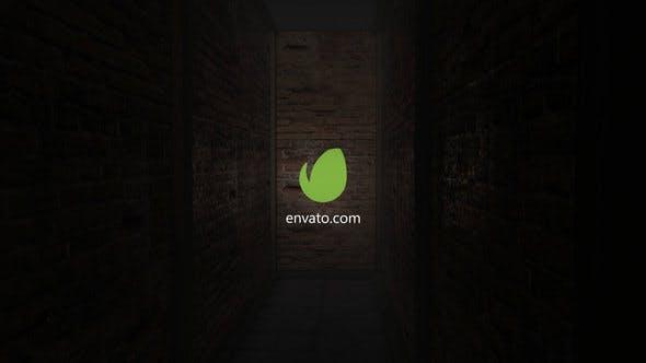 Videohive Horror Corridor Logo 23140569