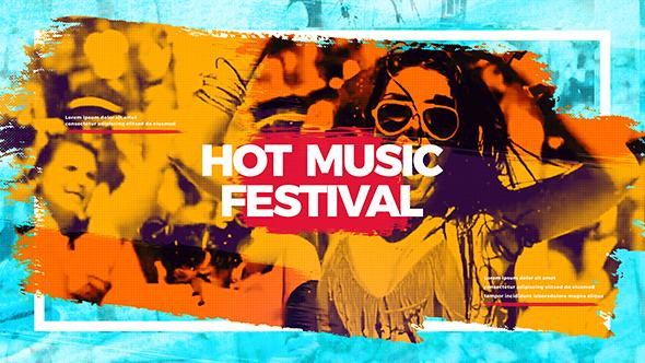 Videohive Hot Music Festival 20451221