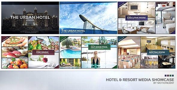 Videohive Hotel Resort Media Showcase 17390960