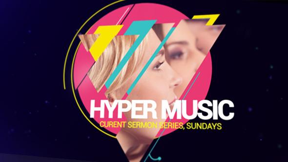 Videohive Hyper Music Festival 9083605