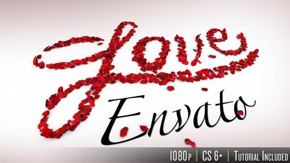 Videohive I Love You 14399931