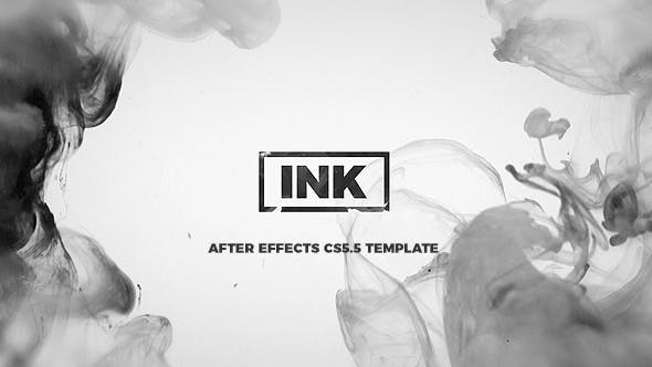 Videohive INK Titles Slideshow 21331720