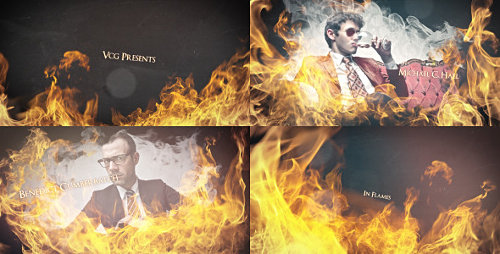 Videohive In Flames - An Epic Dynamic Opener
