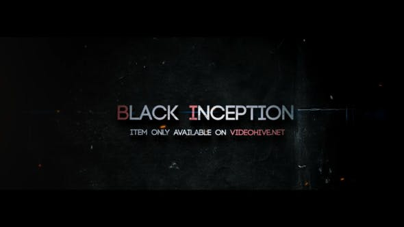 Videohive Inception - Trailer Titles 13579341