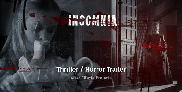 Videohive Insomnia - Thriller Horror Trailer 19674854