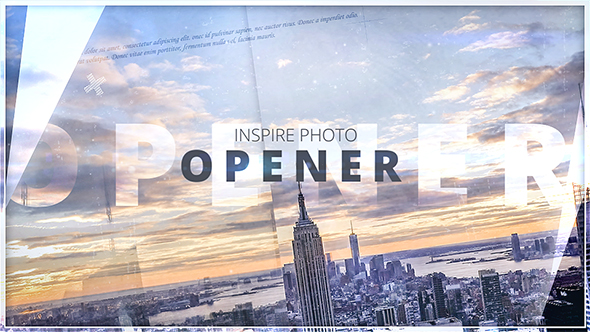 Videohive Inspire Photo Opener 19851742