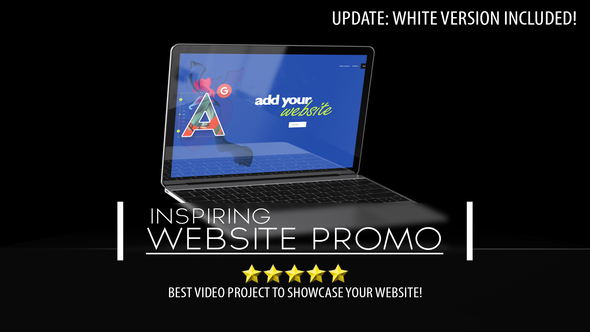Videohive Inspiring Web Promo 20900349