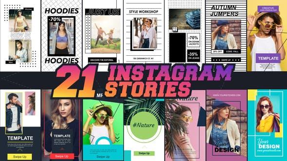 Videohive Instagram Stories V1 21 in 1 23115745
