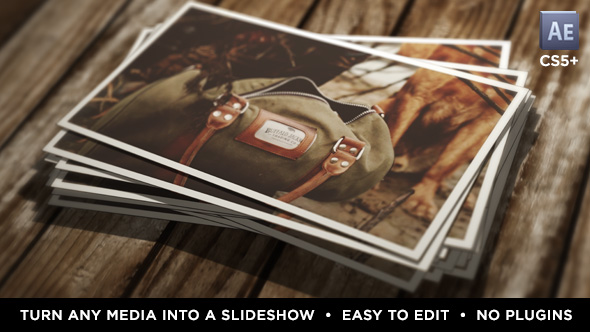 Videohive Instant Photo Stack 16063806