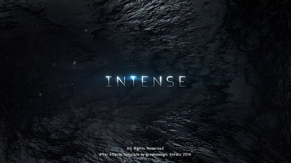 Videohive Intense Trailer Titles 16056090