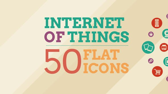 Videohive Internet Of Things and Smart Home Icon Set 14465579