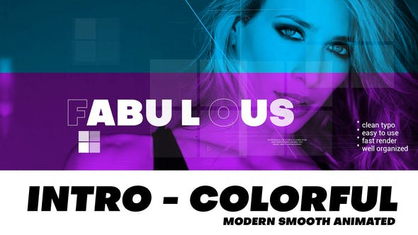 Videohive Intro - Modern and Colorful 27492627