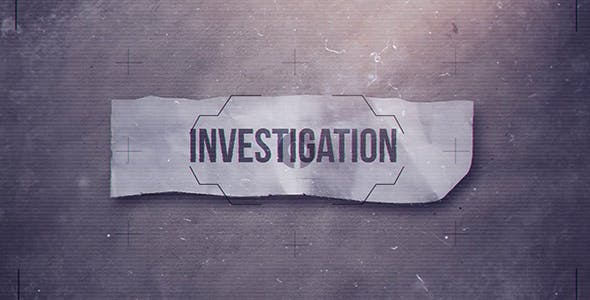 Videohive Investigation 20360827