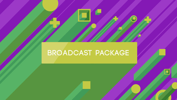 Videohive Isometric Broadcast Package 7264233