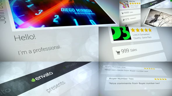 Videohive Its All Marketing 7013788