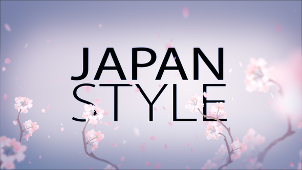 Videohive Japan Style Intro 10954721