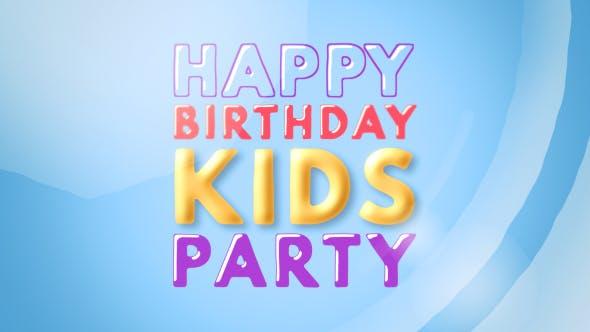 Videohive Kids Opener - Happy Kids 20032148