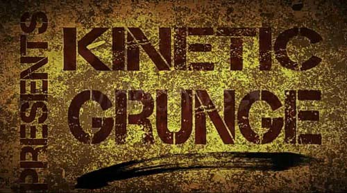 Videohive Kinetic Grunge