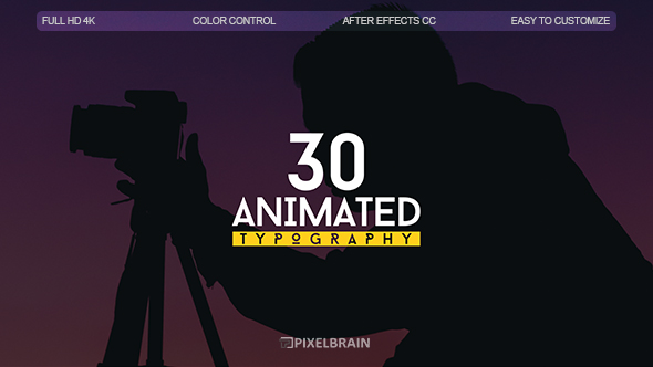 Videohive Kinetic Titles 19779026