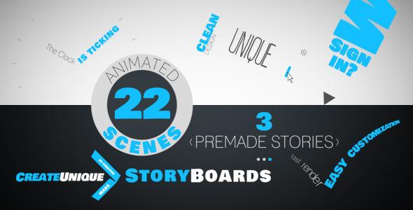 Videohive Kinetic Typo Storyteller 7823045