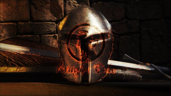 Videohive Knight Tale Ancient Logo Reveal 23359268