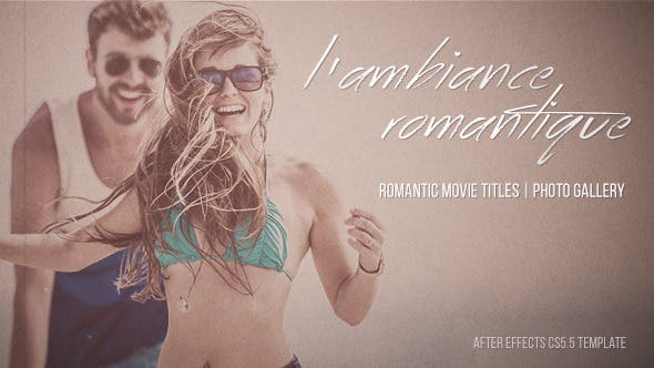 Videohive Lambiance Romantique - Cinematic Titles Gallery 10707606