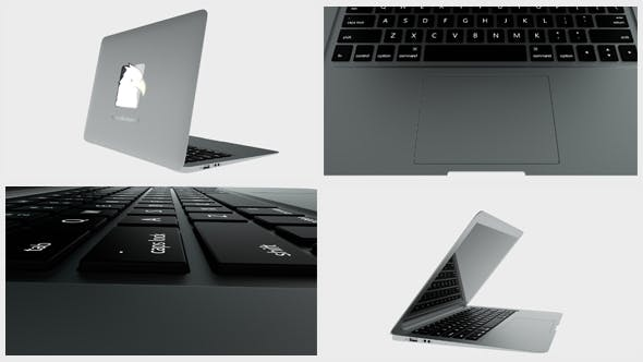 Videohive Laptop - Logo Reveal 20042866