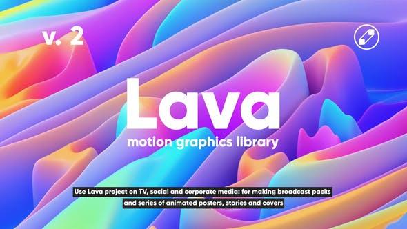 Videohive Lava Social Media Pack 24118486