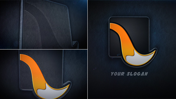 Videohive Leather Logo Reveal 5927074
