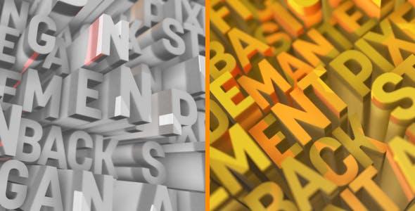 Videohive Letter Logo Opener 18897019