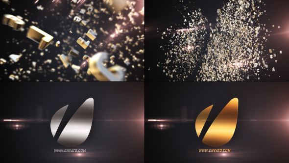Videohive Letters Logo Text Reveal 4597336