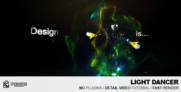 Videohive Light Dancer 8826002
