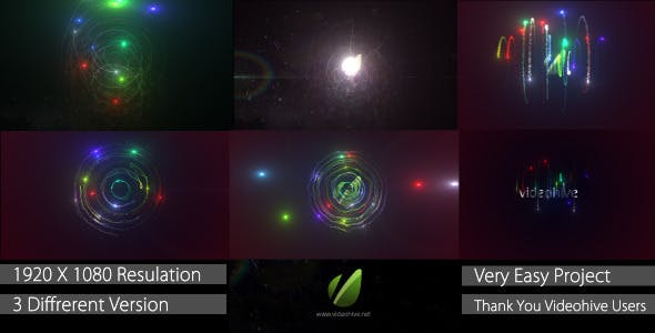 Videohive Light Particle Logo 3957824