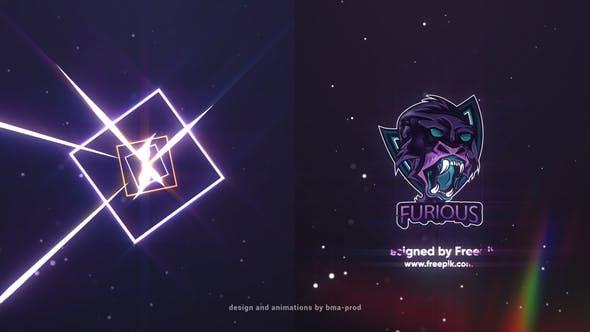 Videohive Light Streaks Logo Reveals 27446952
