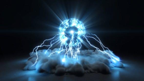 Videohive Lightning Burst Logo 24906371