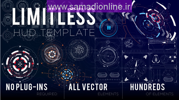 Videohive Limitless HUD Template 10321582