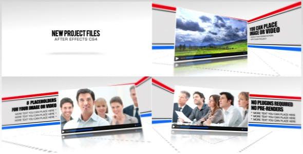 Videohive Line Corporate Presentation 3703045