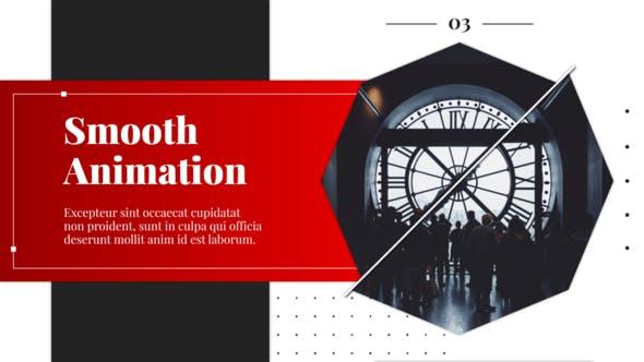 Videohive Line Rotation - Slideshow 27005319