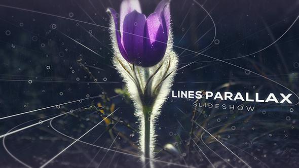 Videohive Lines Parallax Slideshow 19209185