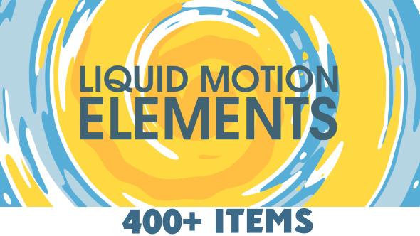 Videohive Liquid Motion Elements 10190771