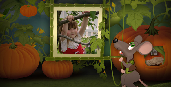 Videohive Little Mouse World