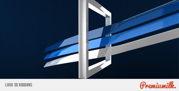 Videohive Logo 3D Ribbons 4883665
