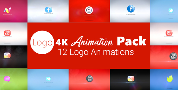 Videohive Logo 4K Animation Pack 20405671