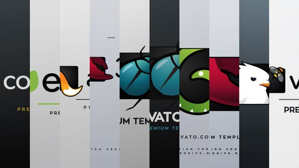 Videohive Logo End Tags Animation Pack 14714606