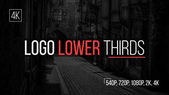 Videohive Logo Lower Thirds 15488414