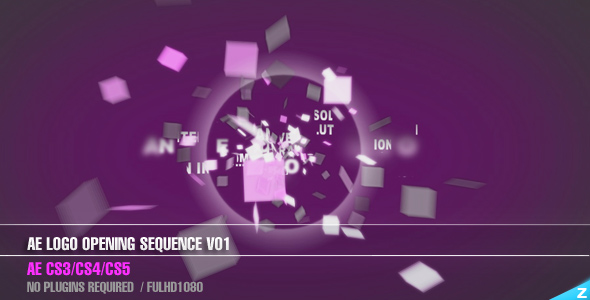 Videohive Logo Opening Sequence V01